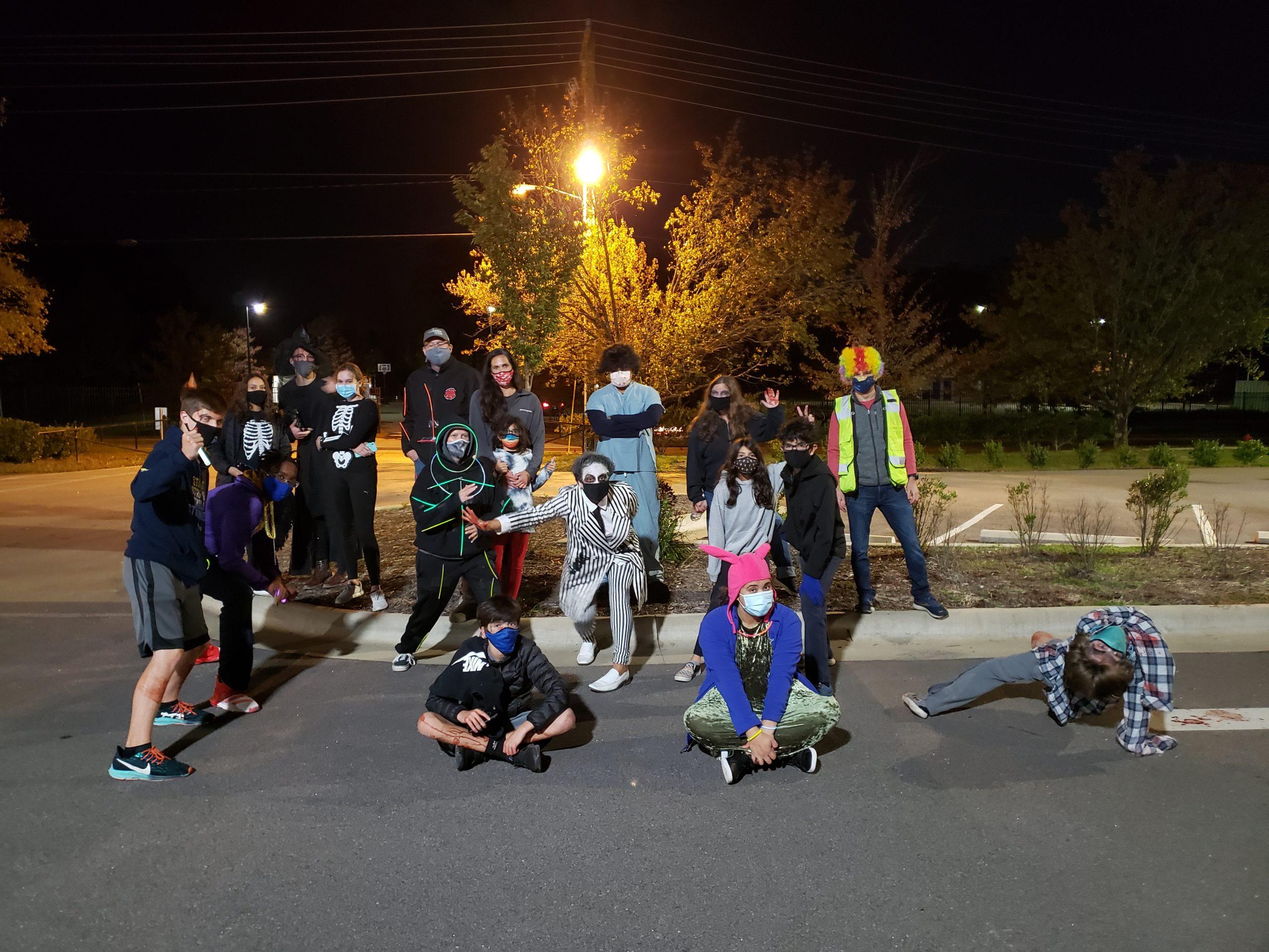 The Halloween Haunt Crew
