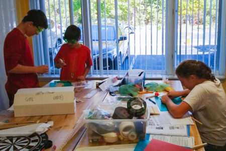 Working in the Maker Space