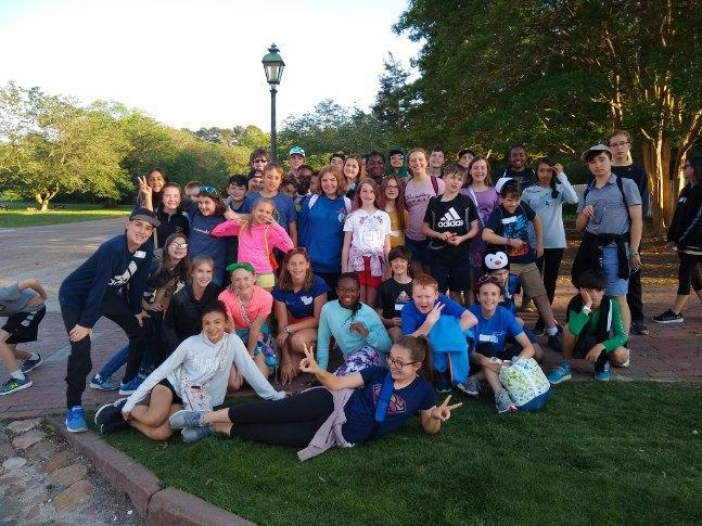 Middle School at Busch Gardens
