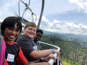 Fifth grade goes to Gatlinburg, TN